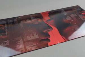 Photograph of the album package.